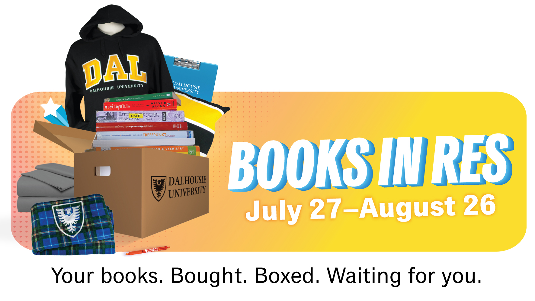Books in Res | July 27-29