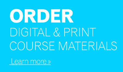 Order Digital & Print Course Materials
