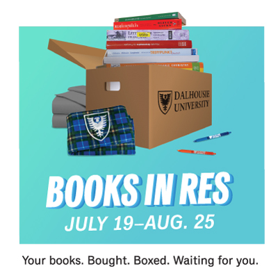Order your textbooks and dorm essentials by Aug. 25, and have everything delivered to your residence before you arrive! Delivery is free!