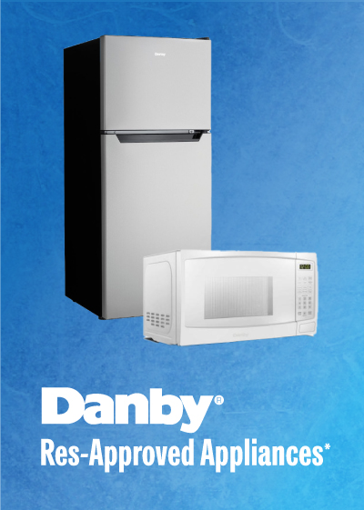Purchase your very own Danby Res-approved appliances for your dorm room!