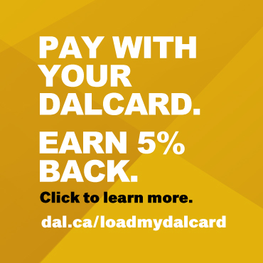 Pay with your DalCard and earn 5% back!